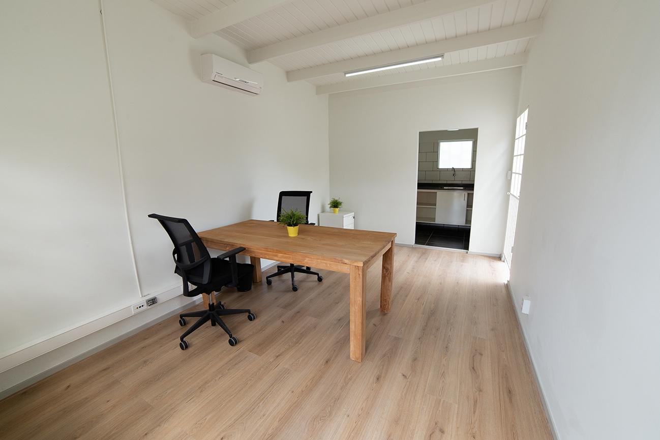 kantoor en keuken